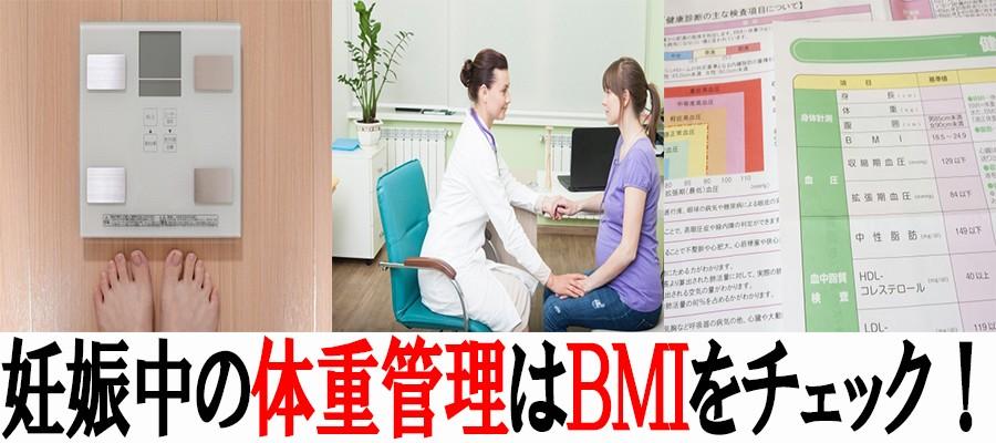 妊娠中の体重管理はBMI値をチェック